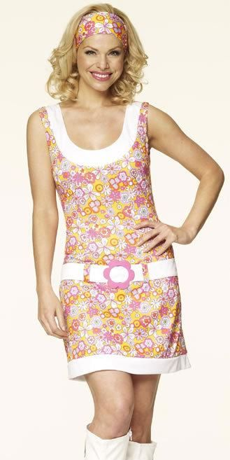 Floral Dropwaist GoGo Mini dress Sizes 10 ~ 18 | Plus Size Fancy ...
