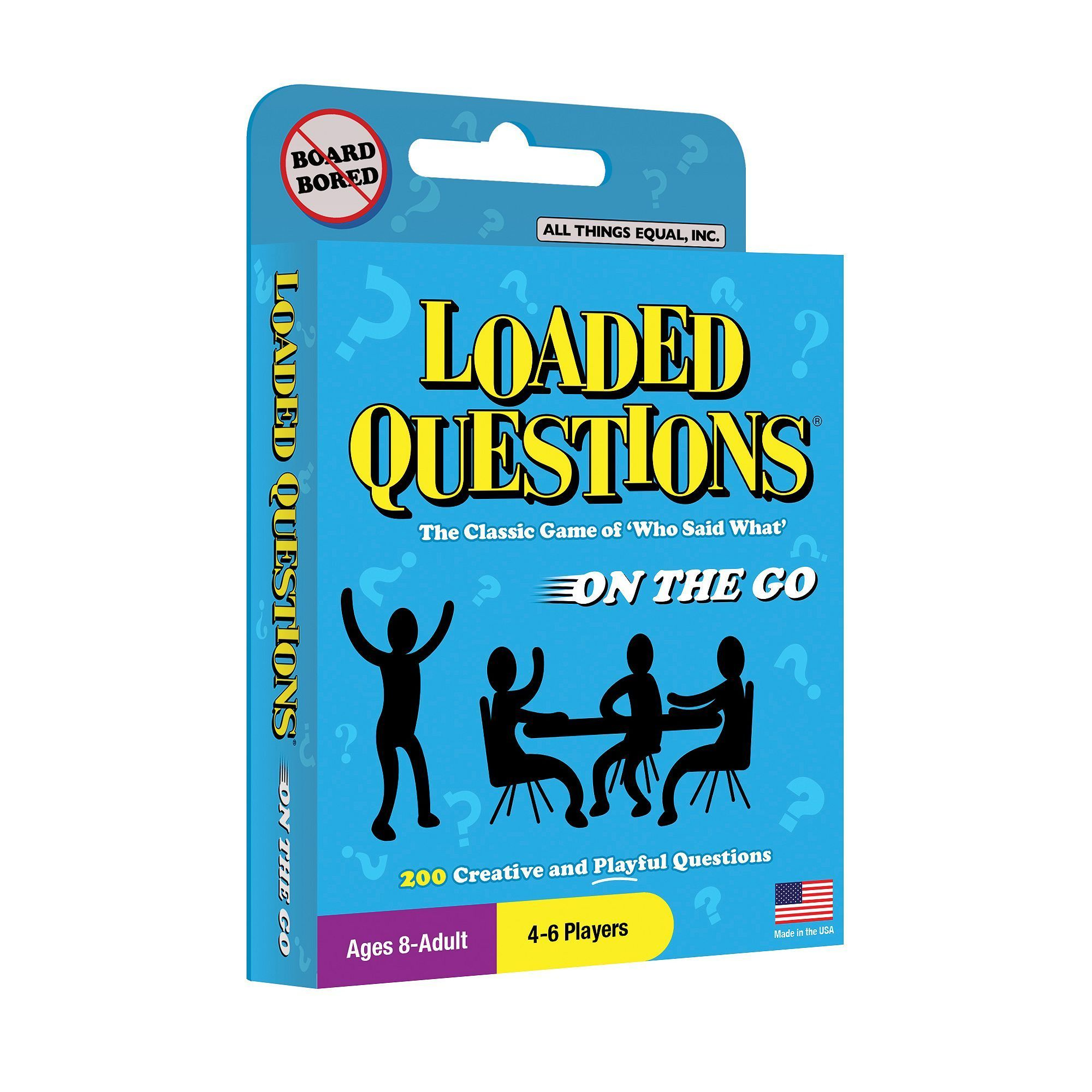 All Things Equal Loaded Questions On The Go Card Game
