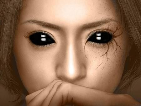 Halloween makeup idea *note to self* find someplace that sells