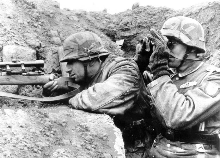 tireur d 233 lite allemand pendant la seconde guerre mondiale german sniper in world war ii