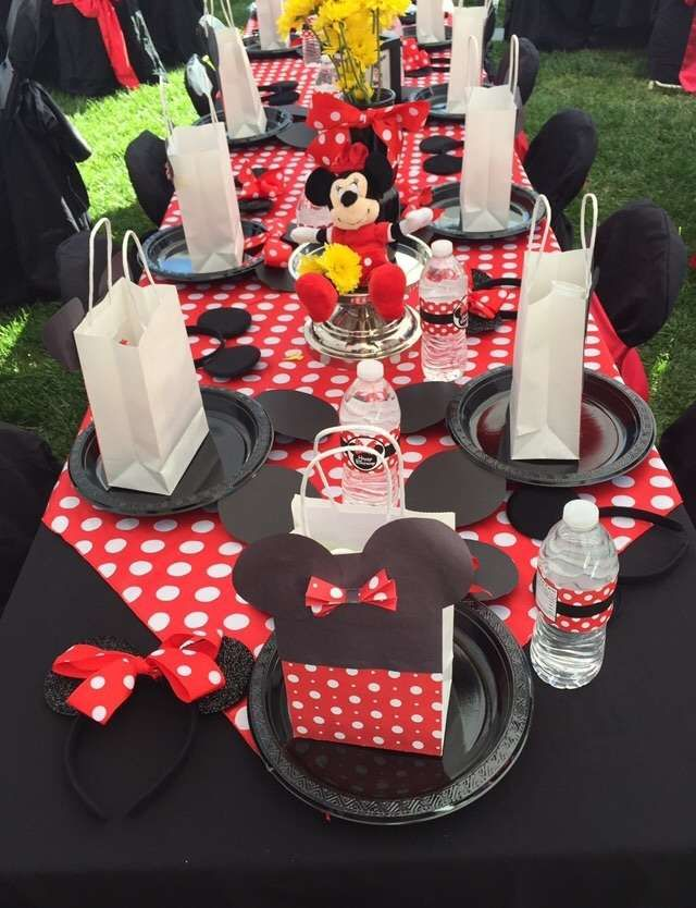 Minnie Mouse Birthday Party Ideas Photo 10 Of 20 Minnie Mouse