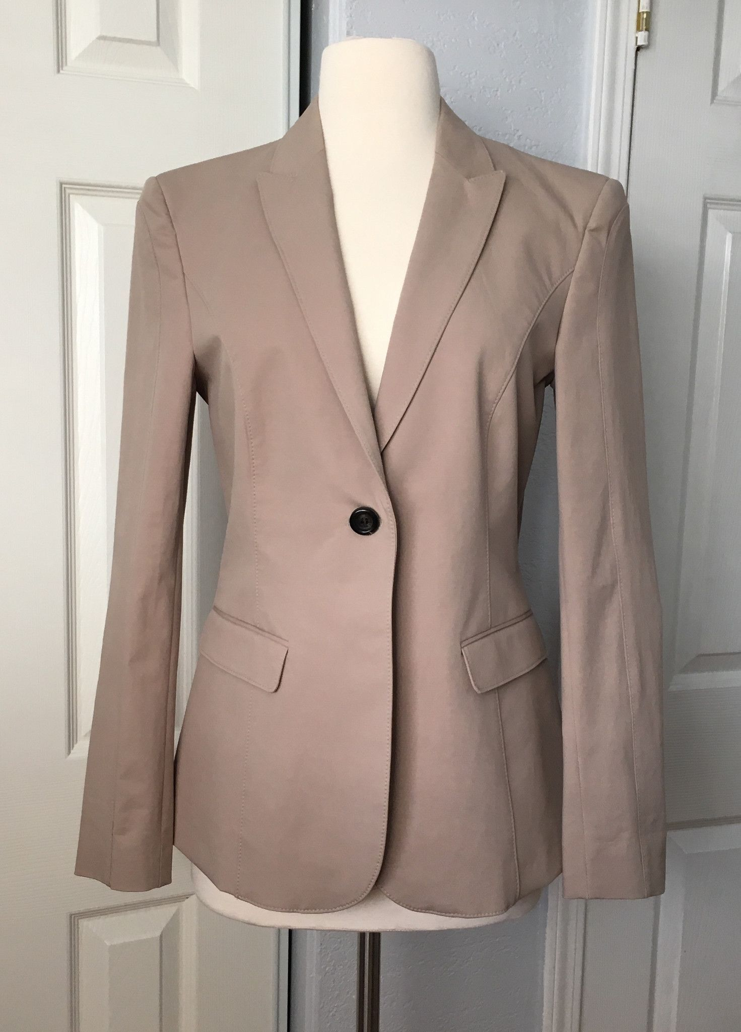 BURBERRY Suit Jacket Taupe