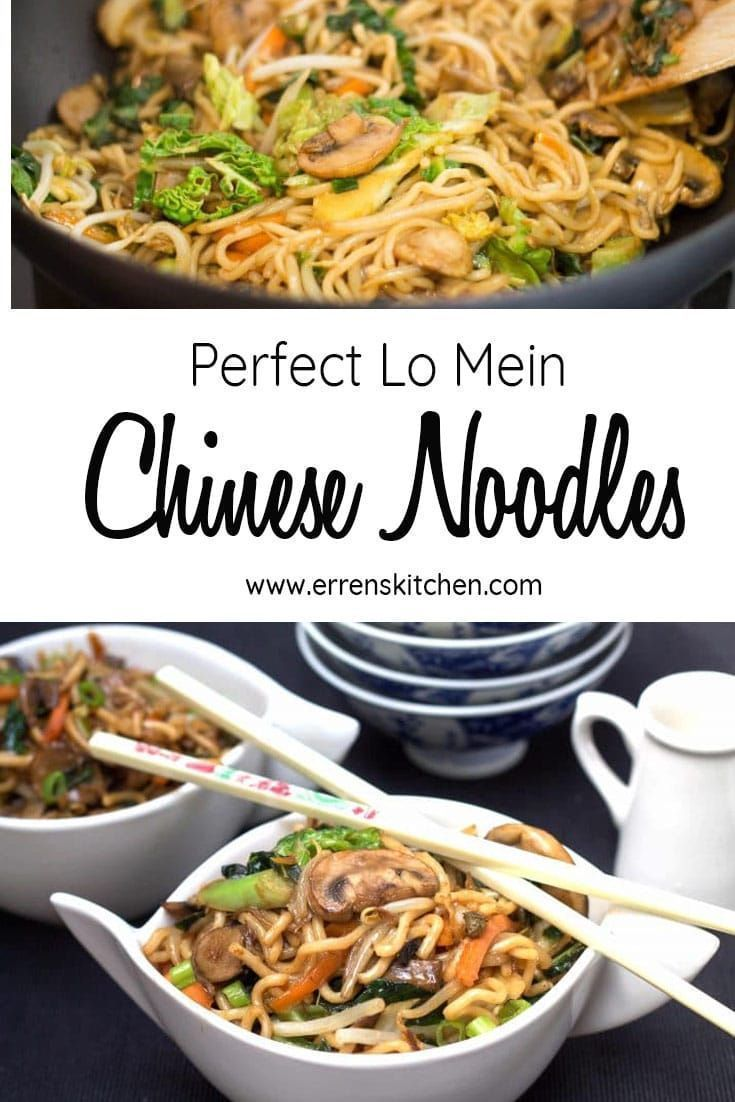 an Authentic Chinese recipe you can make at home? This recipe makes Perfect Chinese Lo mein noodles, in a delicious sauce, mixed vegetables - its a healthy alternative to takeout any night of the week!