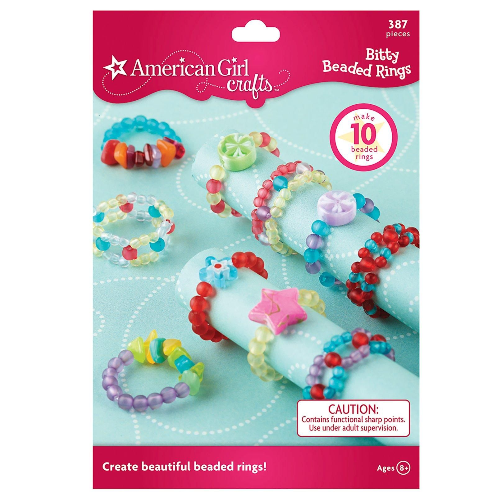 American Girl Crafts Bitty Beaded Rings Activity, 78075