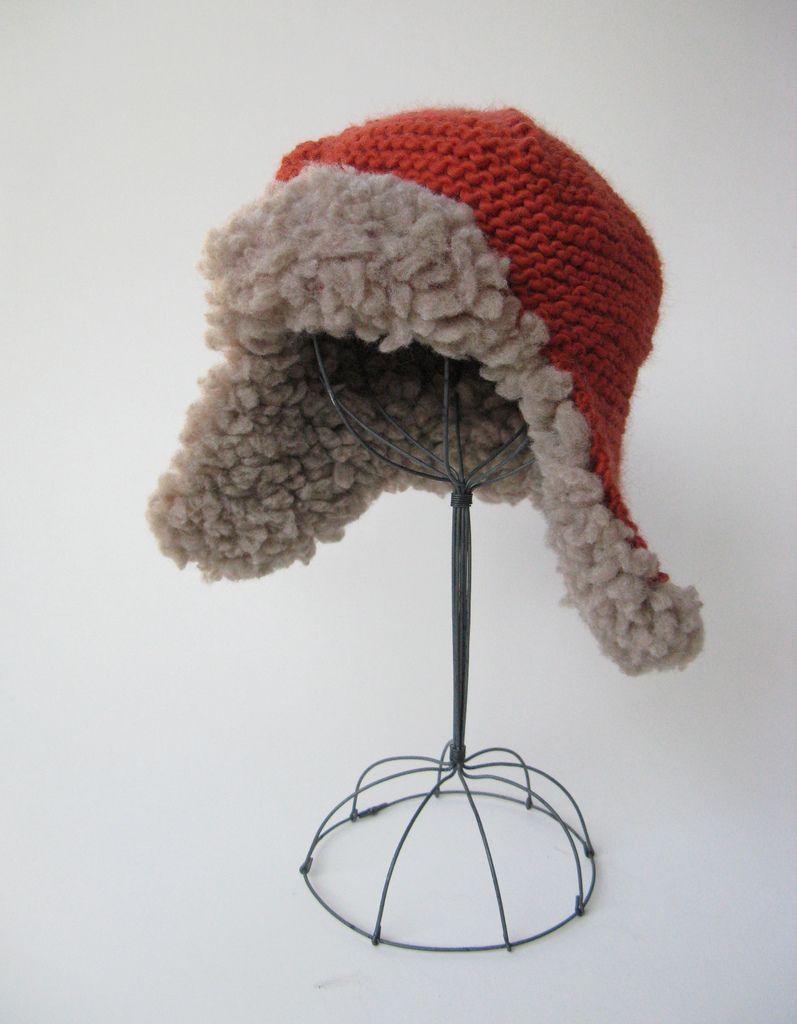 Fleeced Earflap Hat pattern by Julie Weisenberger | Knits for kids ...