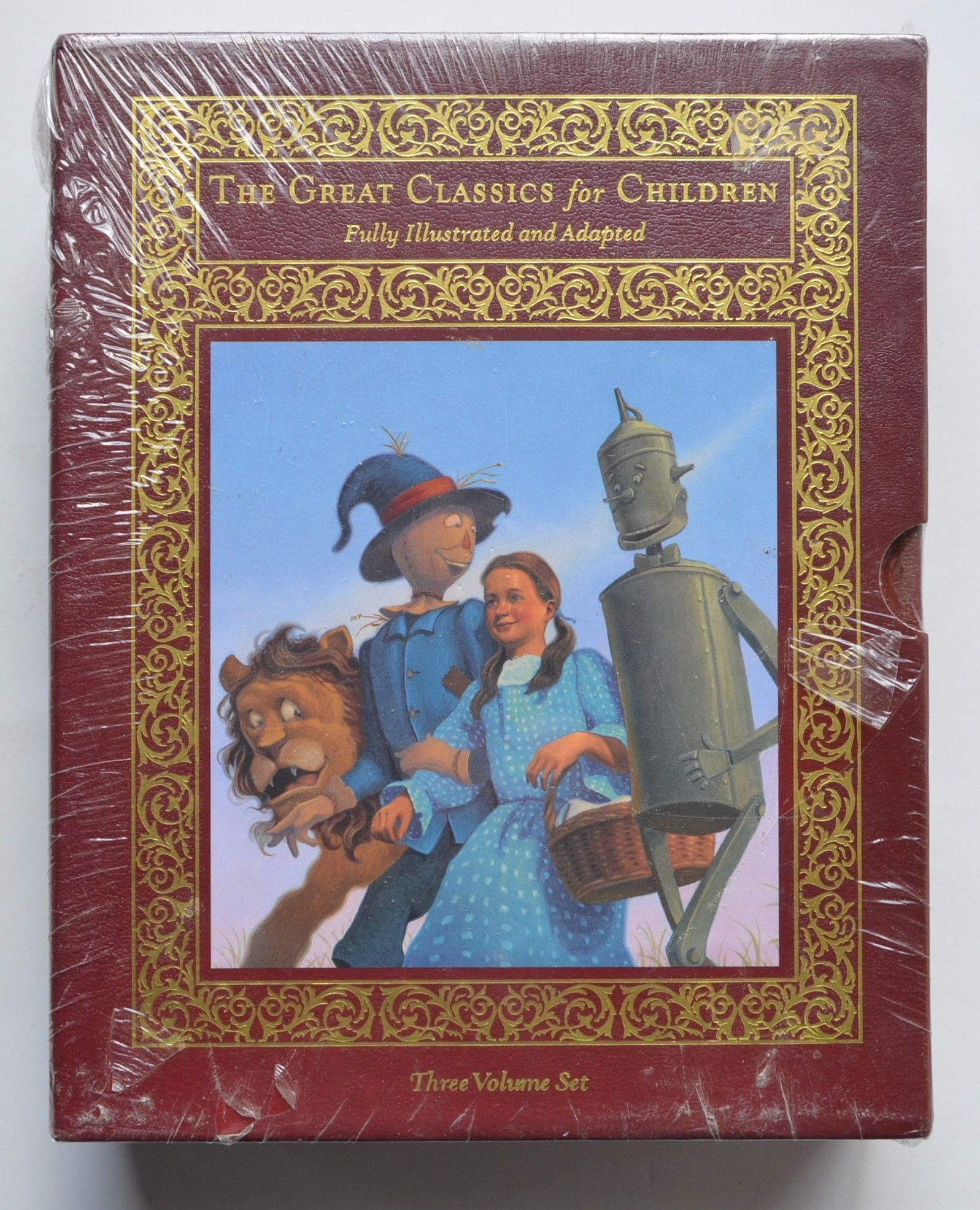 The Great Classics for Children : Peter Pan, The Wind in the Willows, and The Wonderful Wizard of Oz by J.M. Barrie, Kenneth Graham, L. Frank Baum.
