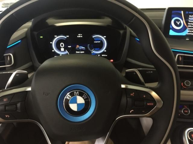 2015 Bmw I8 Used Ionic Silver Metallic W Bmw I Frozen Blue Accent