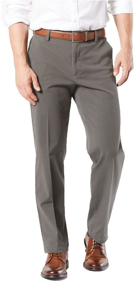 Dockers Mens Big /& Tall Classic Fit Workday Khaki Smart 360 Flex Pants D3 Casual Pants