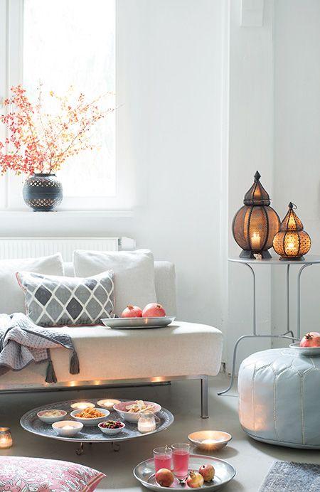 wunderschön-gemacht: orientalisches gelage | Wohnzimmer | Pinterest ...
