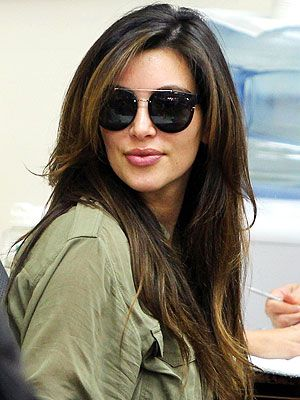 Sweet! Kim Kardashian Debuts 'Chocolate Brown' Hair Color ...