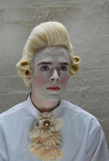 Historical Makeup 18th Century Costume