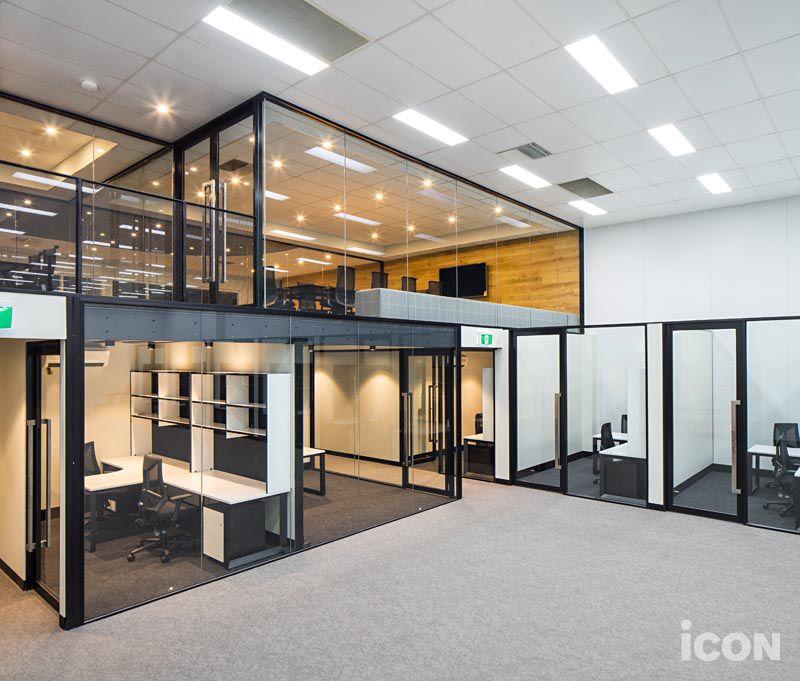 Mezzanine Office Warehouse Office Design Office Interior Design Modern Office Design