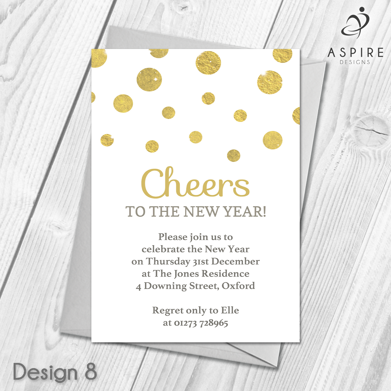 Personalised New Years Eve Party Invitations   Celebration Invites ...