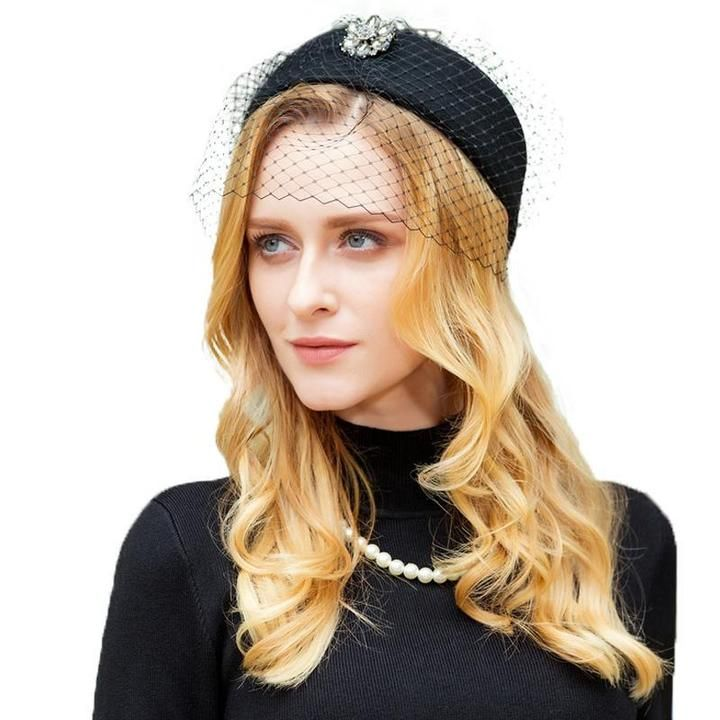 b2197c79f4a5a Antoinette Classic Veiled Pillbox Hat in 2019 | DECORATING | Hats ...