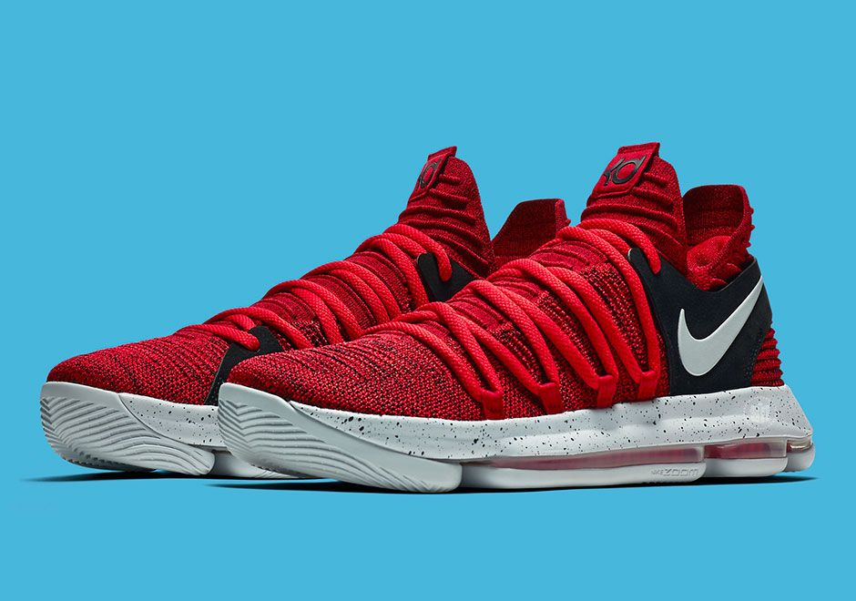 "#sneakers #news Nike KD 10 ""University Red"" Releasing In September"
