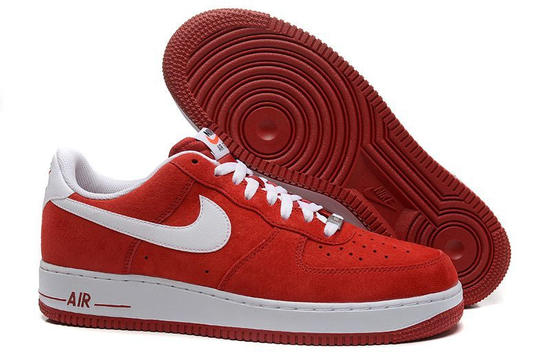 air force 1 homme rouge et blanche