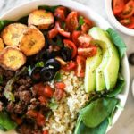 Ground Beef Taco Bowl Recipe (Paleo, Whole30 + GF) #groundbeeftacos
