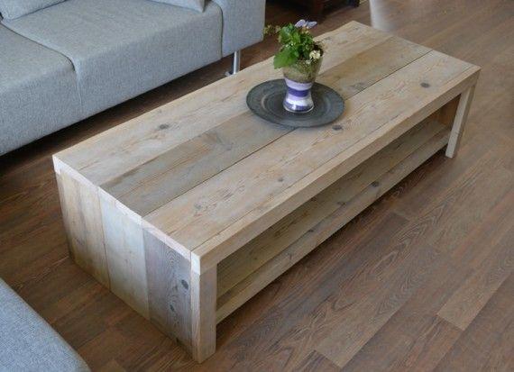 salontafel maken van steigerhout ontwerp - Google zoeken