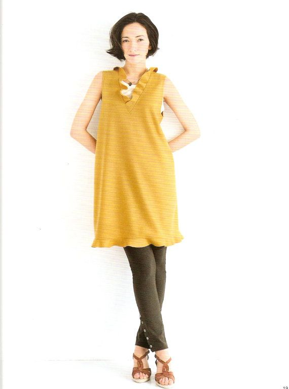 My Clothes by Yoshiko Mizuno - Japanese Sewing Pattern Book for ...