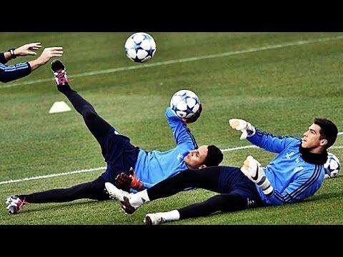 1) Real Madrid Goalkeeper Training • Keylor Navas • Kiko