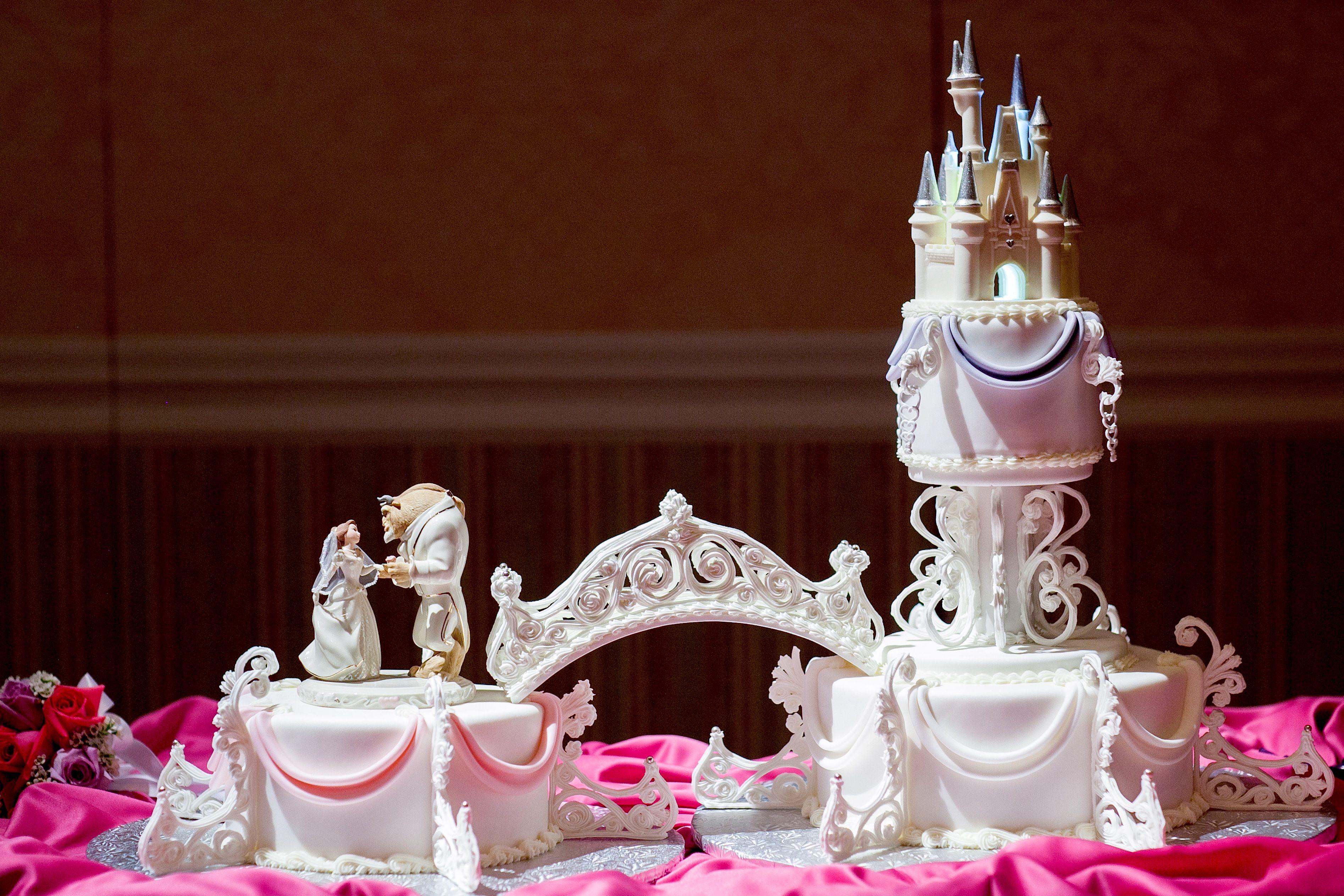 Beauty And The Beast Cake Idea W E D D I N G I D E A S