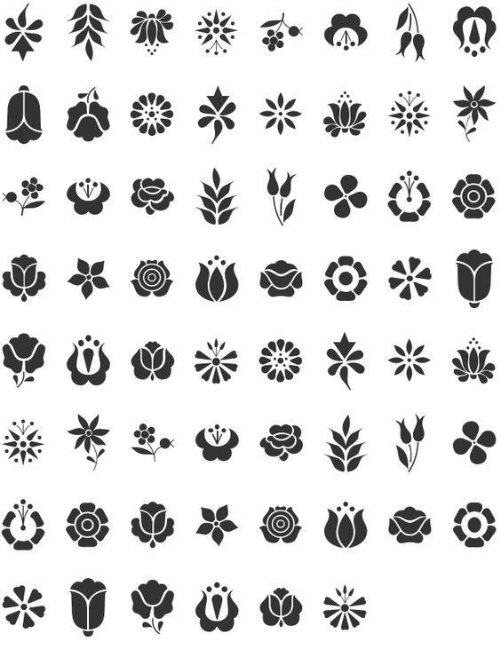 Pin de Adriana Iannini en Flores y hojas | Pinterest | Bordado ...
