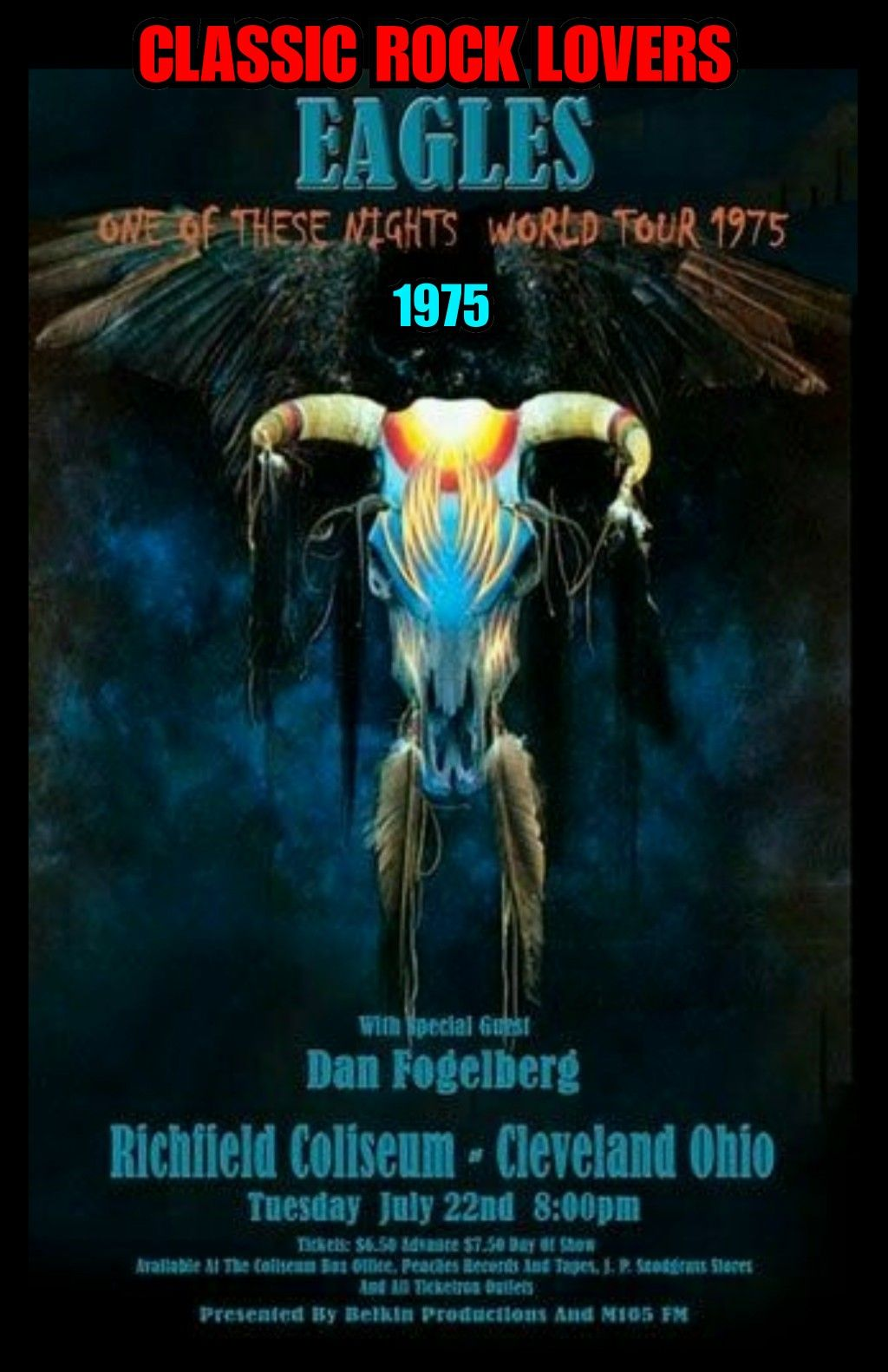 Love The Eagles Concert Posters Concert Poster Art Tour Posters