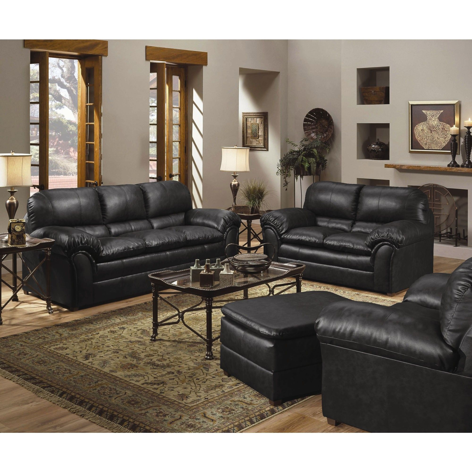 Cool Simmons Upholstery Geneva Sofa And Loveseat Set 6152Sl Frankydiablos Diy Chair Ideas Frankydiabloscom