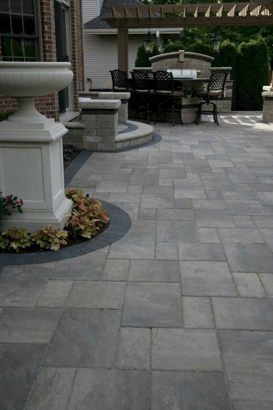 Gorgeous 10 Paved Design Ideas For Your Backyard Ogrod