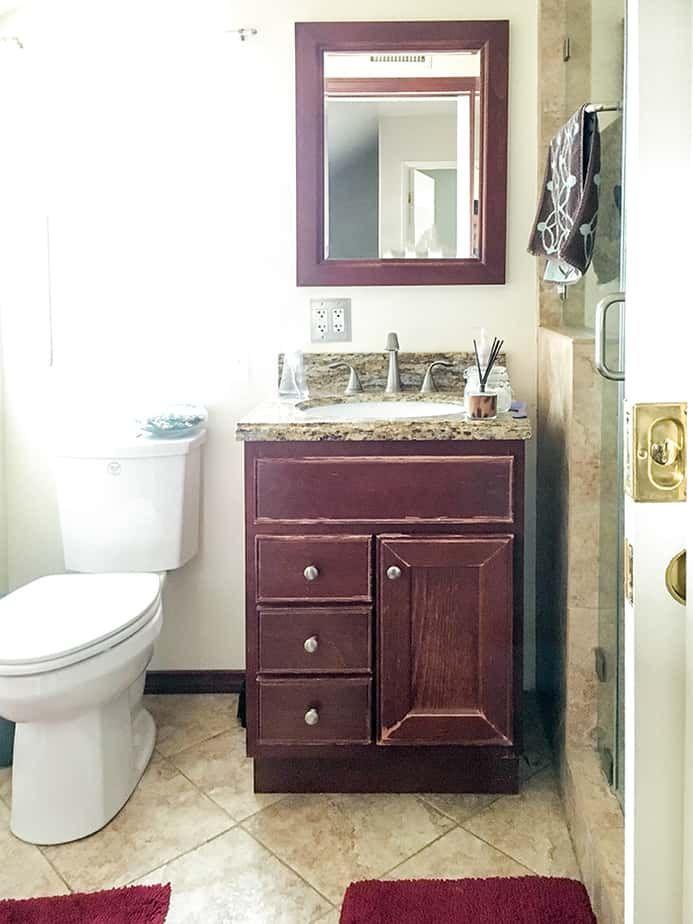 Small Bathroom Remodel - Ideas on a Budget   Diy bathroom ...