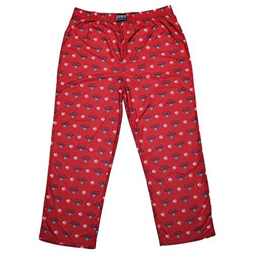 BIG  TALL NBA  ATLANTA HAWKS Mens Fall  Winter Pajama Pants 2XL Multicolor *** Click on the image for additional details.