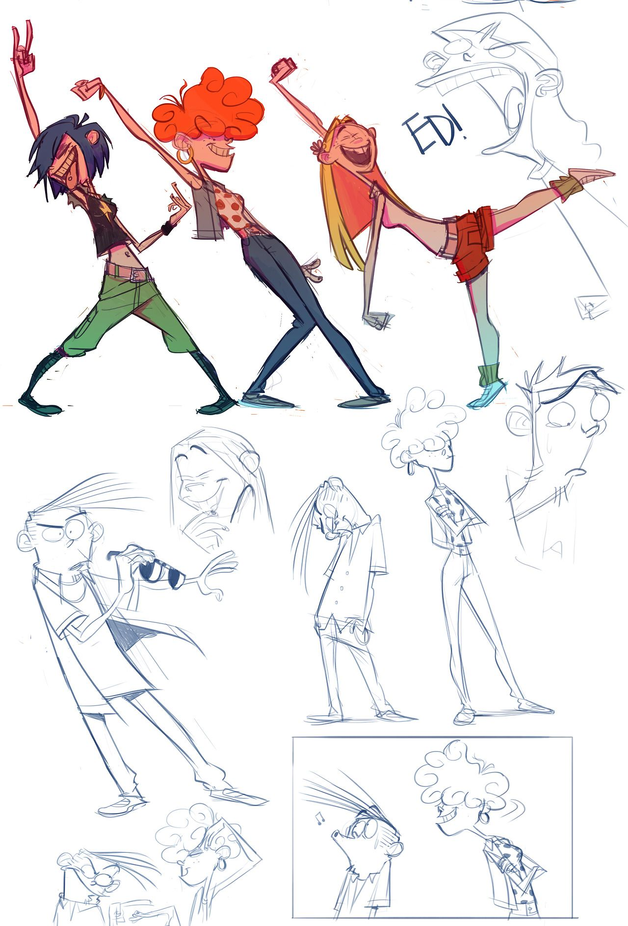 Ed Edd and Eddy ☆ || CHARACTER DESIGN REFERENCES… | art | Pinterest ...
