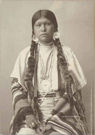 Yakama woman - 1897