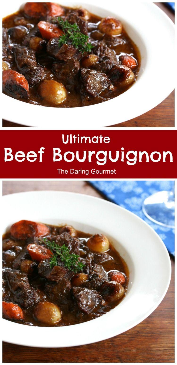 Ultimate Beef Bourguignon Recipe Beef Bourguignon Recipes Beef Recipes