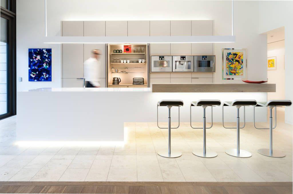 Fotos de cozinhas modernas por klocke möbelwerkstätte gmbh - luxus kche mit kochinsel