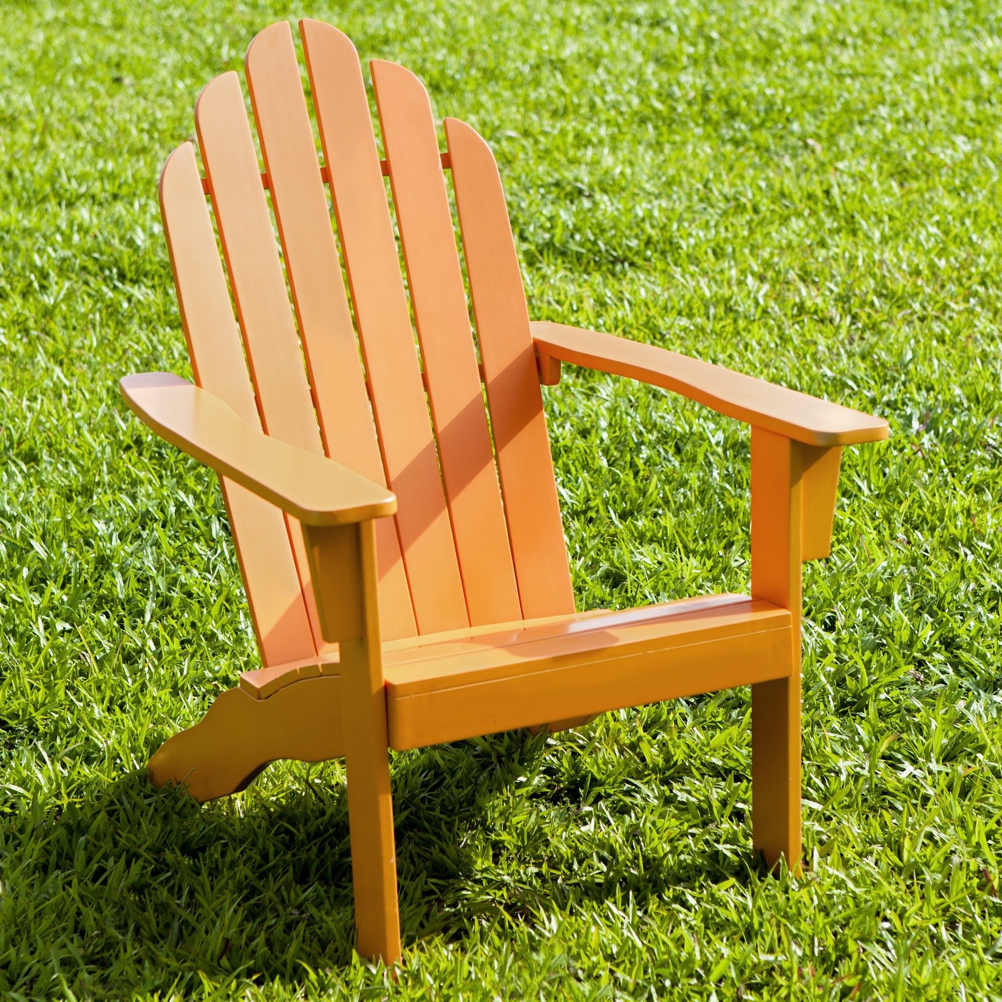 Cuyler Solid Wood Folding Adirondack Chair Patio Chairs Wood