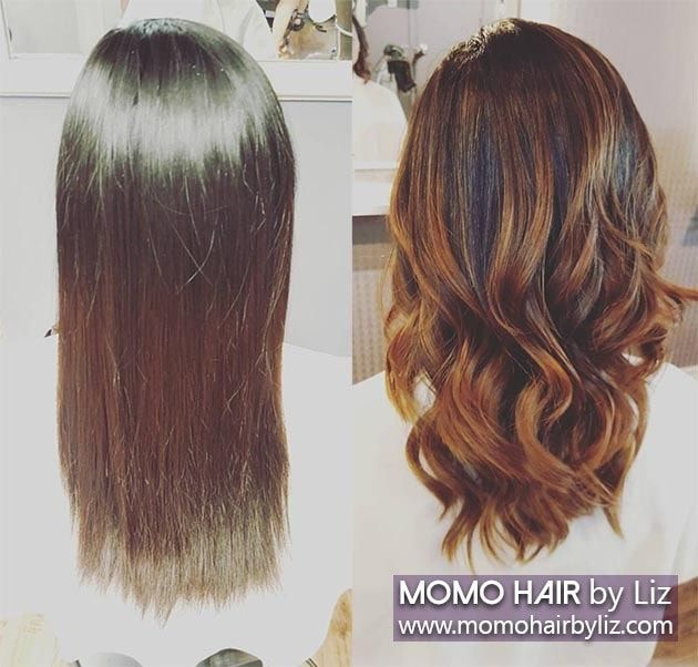 Look At The Balayage Highlights Hairstyles Amp Perms