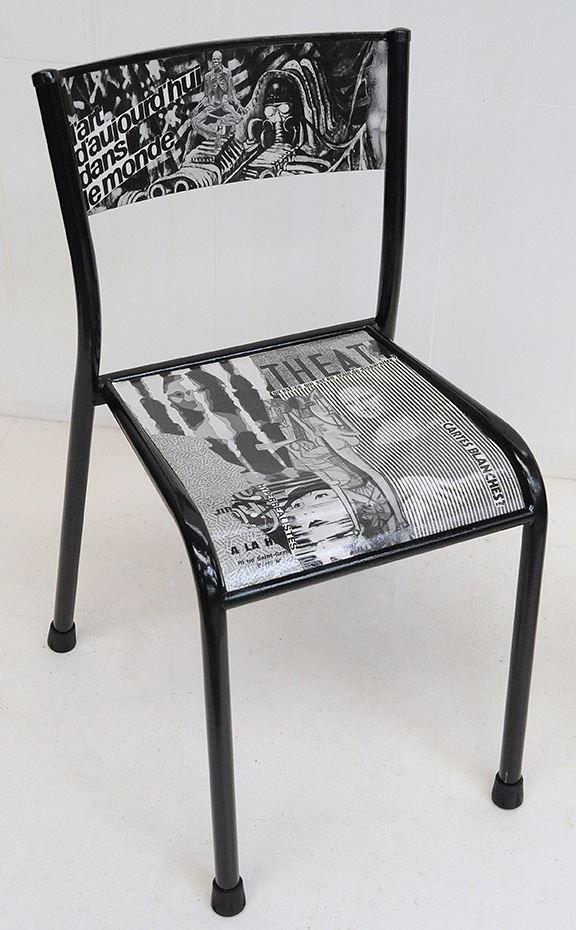 chaise d 39 cole revue et corrig e par atelier d 39 co. Black Bedroom Furniture Sets. Home Design Ideas