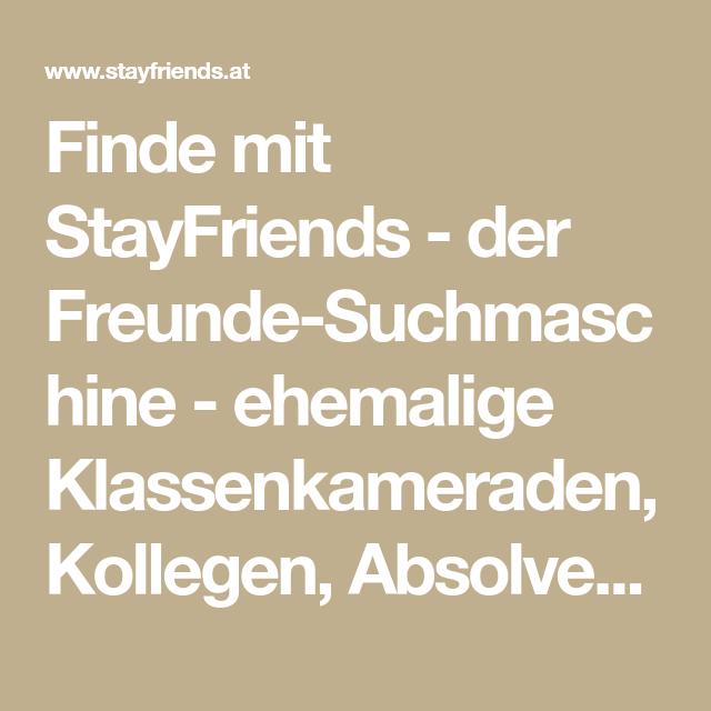 Www stayfriends