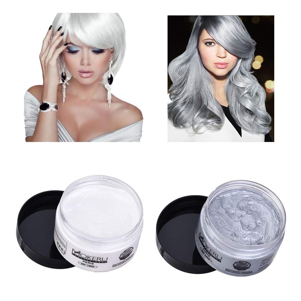 Xgao Washable Temporary Natural Hairstyle In 2020 Hair Wax Styling Cream Diy Hair Color