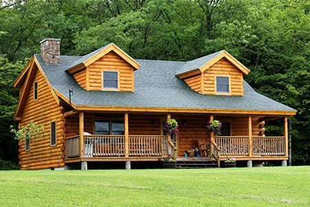 Coventry Log Homes | Our Log Home Designs | Tradesman Series | The ...