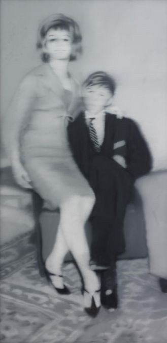Helga Matura mit Verlobtem. Gerhard Richter. #poptopopism