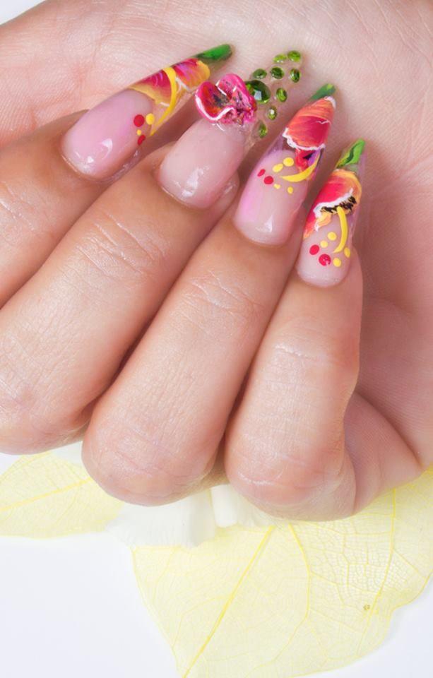 Nail Art Painter | Things I love | Pinterest | Mani pedi, Pedi and ...