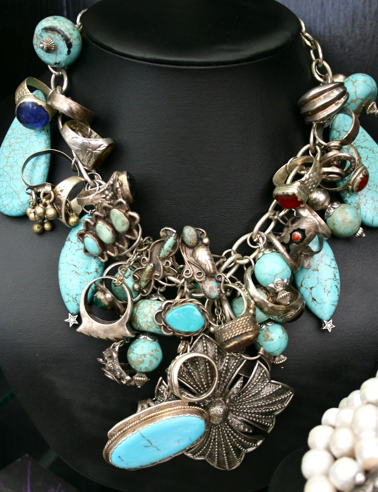 Absolutely LOVE this necklace by Jewelry Designer Deborah Vaughn