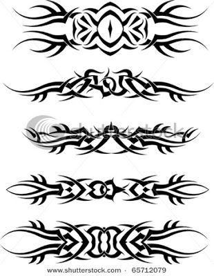 Tattoo Bands Tattoovorlagen Armband Tattoo Keltisch Stammestattoo Designs