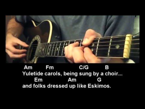 The Christmas Song Michael Buble How To Play Best Beginner Guitar Lessons Guitar Lessons For Beginners Best Guitar For Beginners Guitar Lessons