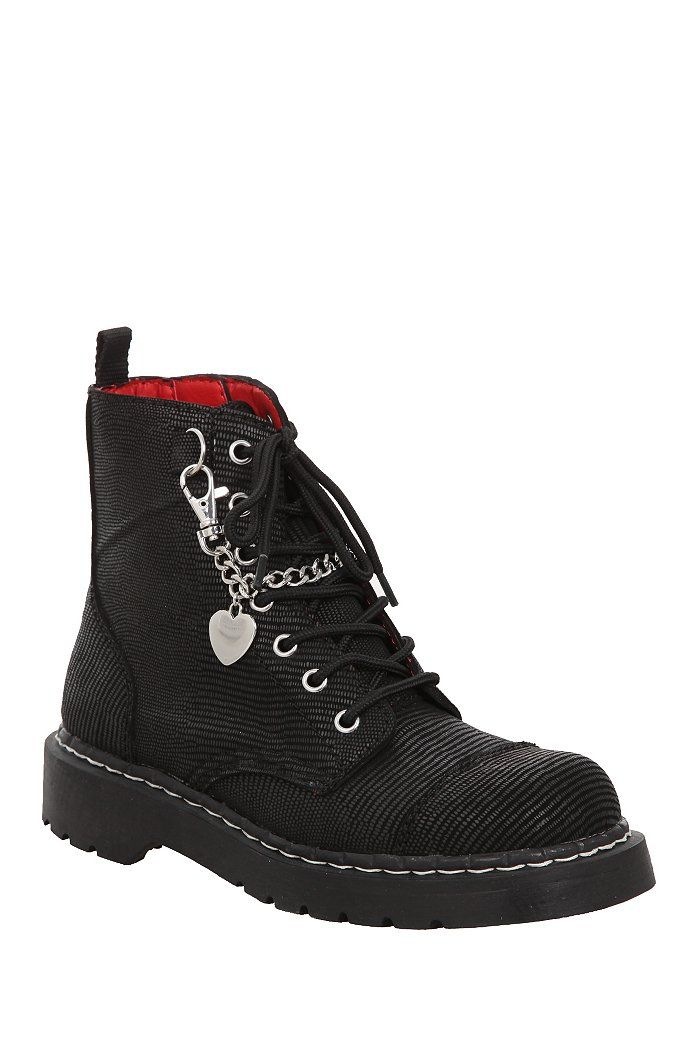 Anarchic By T.U.K. Chain Combat Boots