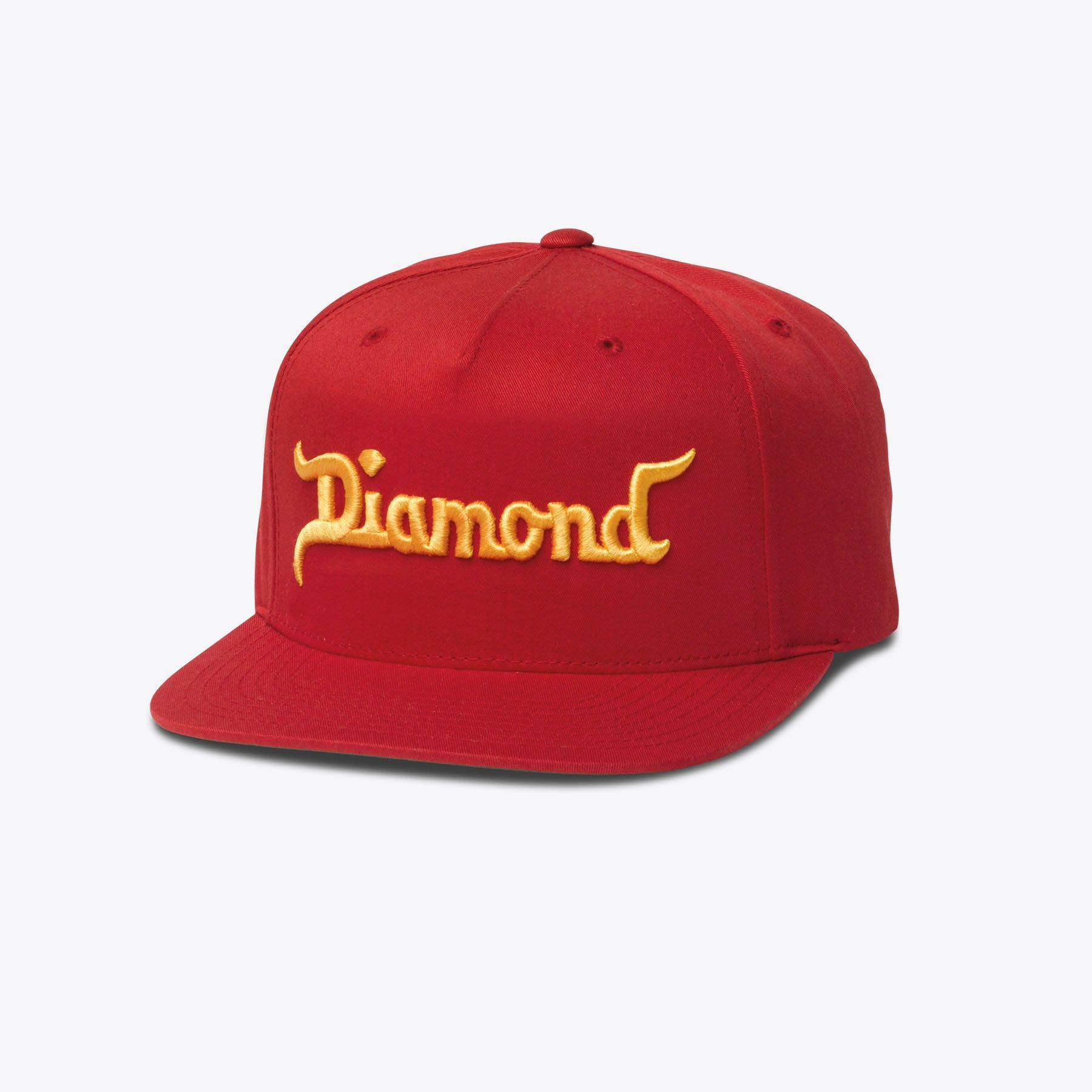43908c6369a Diamond King Snapback in Red Orange
