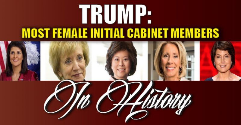 Elegant BREAKING : Donald Trump Assembling More Female Initial Cabinet Members Than  Anyone In History U2013 TruthFeed