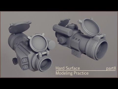 Hard Surface Modeling Practice Part 2 Hard Surface Modeling Surface Model